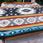 NATIVE PRINT BLANKET – QUEEN SIZE