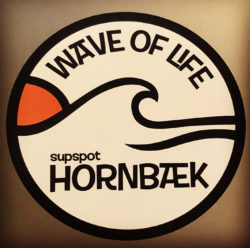 """WAVE OF LIFE""  BUMPER STICKER"