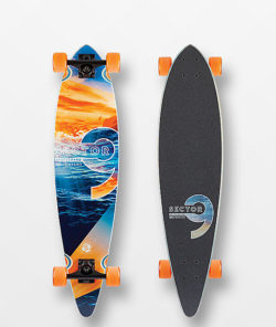 Sector 9 Reflection Ripple 36″ Longboard Complete