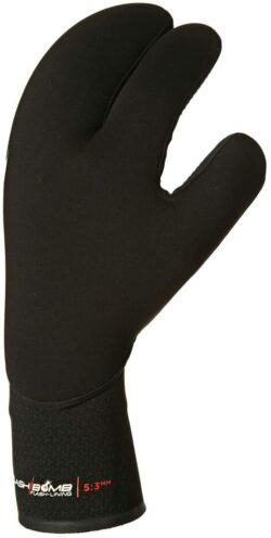 RIPCURL  FLASHBOMB 5/3 3 FINGER GLOVE